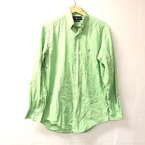 Ralph Lauren Classic fit lime green dress shirt
